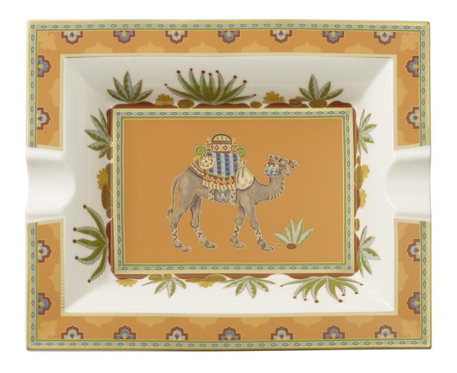 Scrumiera Villeroy & Boch Samarkand Mandarin 17x21cm