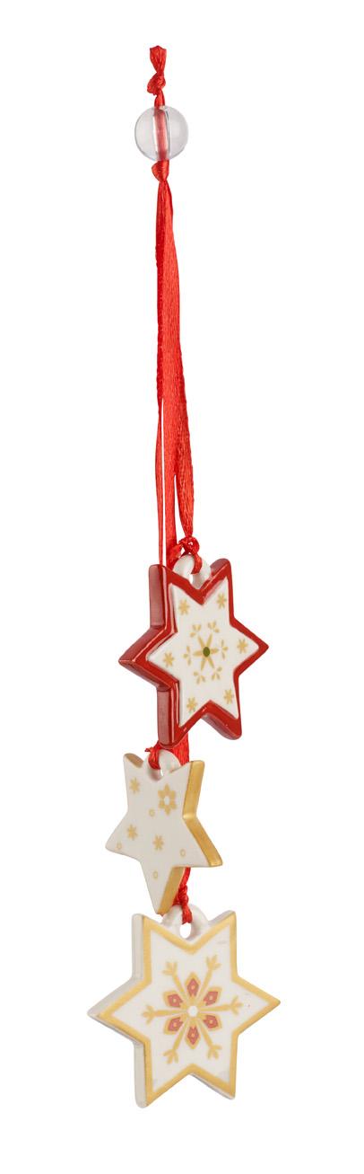 Decoratiune Villeroy & Boch My Christmas Tree Trio Stars 21cm