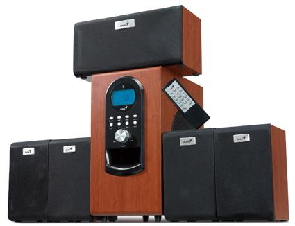 Boxe Genius SW-HF5.1 wood