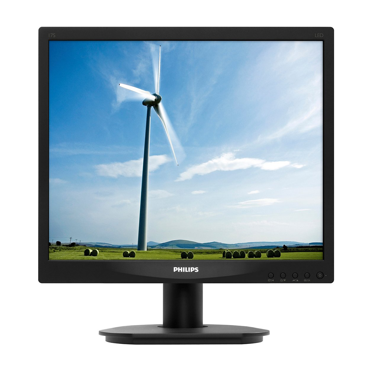 Monitor LED Philips 17S4LSB/00 17 1280x1024 SmartImage, S-Line, Black