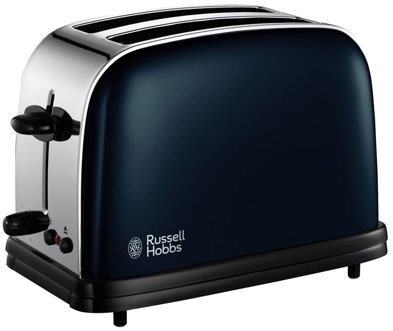 Prajitor de paine Russell Hobbs Colours 18958-56 1100W, 2 felii, Royal Blue