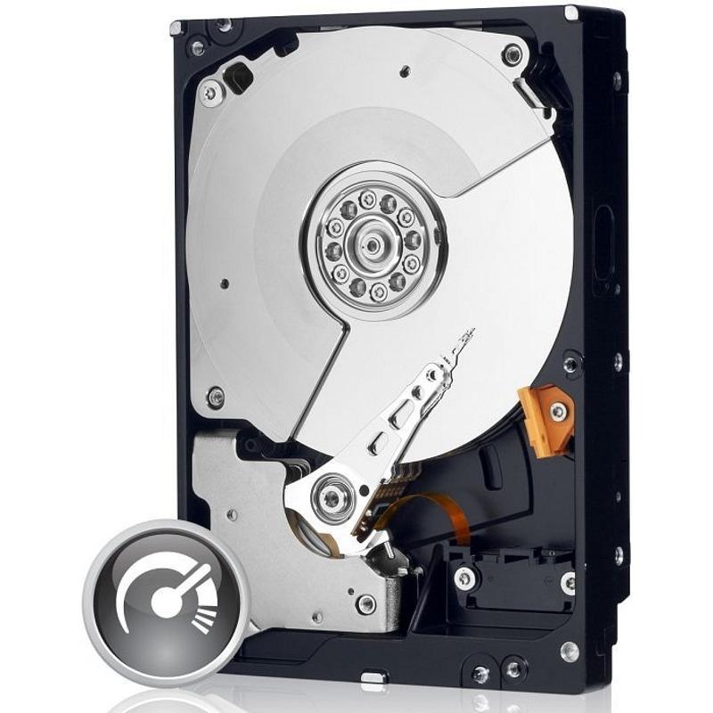 Hdd Western Digital 1tb 7200rpm Sata3 6gb/s 64mb Black