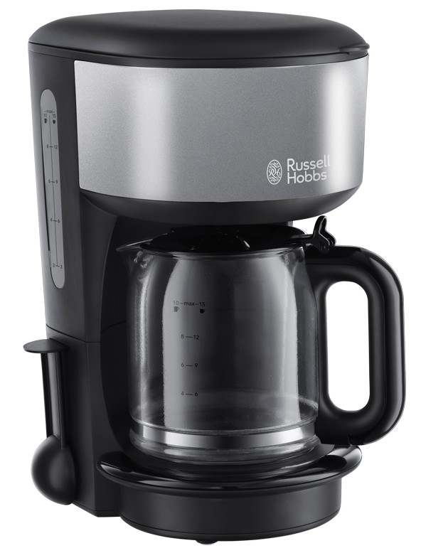 Cafetiera Russell Hobbs Colours 20132-56 1.25 litri, Storm Grey