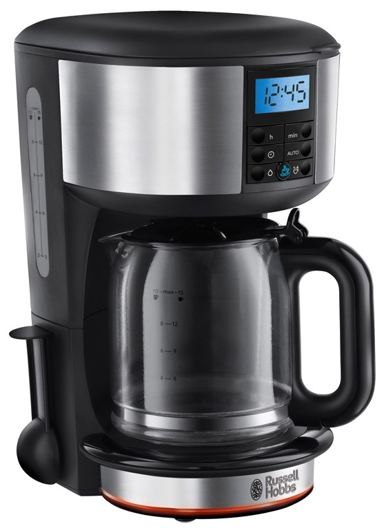 Cafetiera Russell Hobbs Legacy 20681-56 1.25 litri, timer, inox-negru