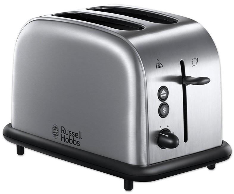 Prajitor de paine Russell Hobbs Oxford 20700-56 2 felii, 1000W, inox