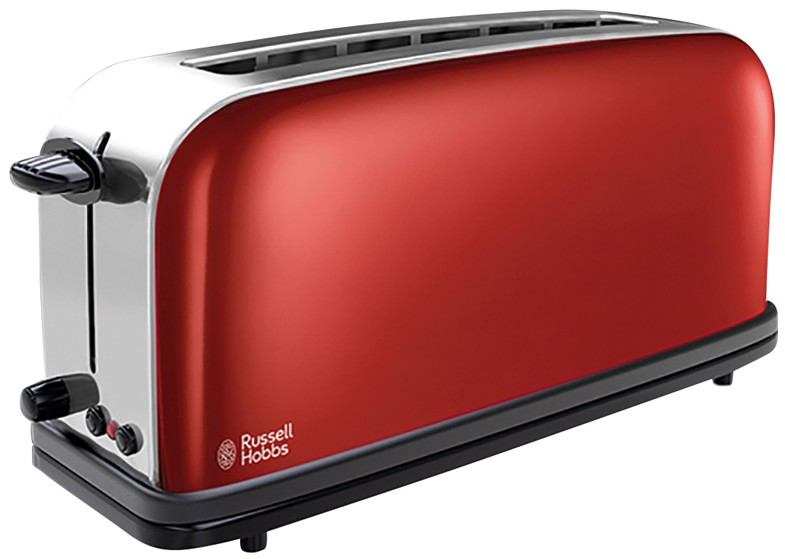 Prajitor de paine Russell Hobbs Long Slot 21391-56 Flame Red