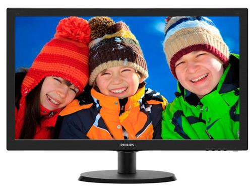 Monitor Led Philips 223v5lsb 21.5 W-led 1920x1080  16:9 Negru
