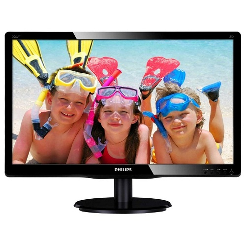 Monitor Led Philips 226v4lab 21.5fullhd Black