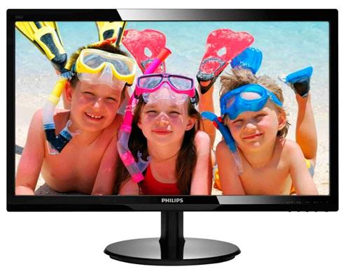 Monitor Led Philips 246v5lhab 24 W-led 1920x1080 16:9 Negru Carbon