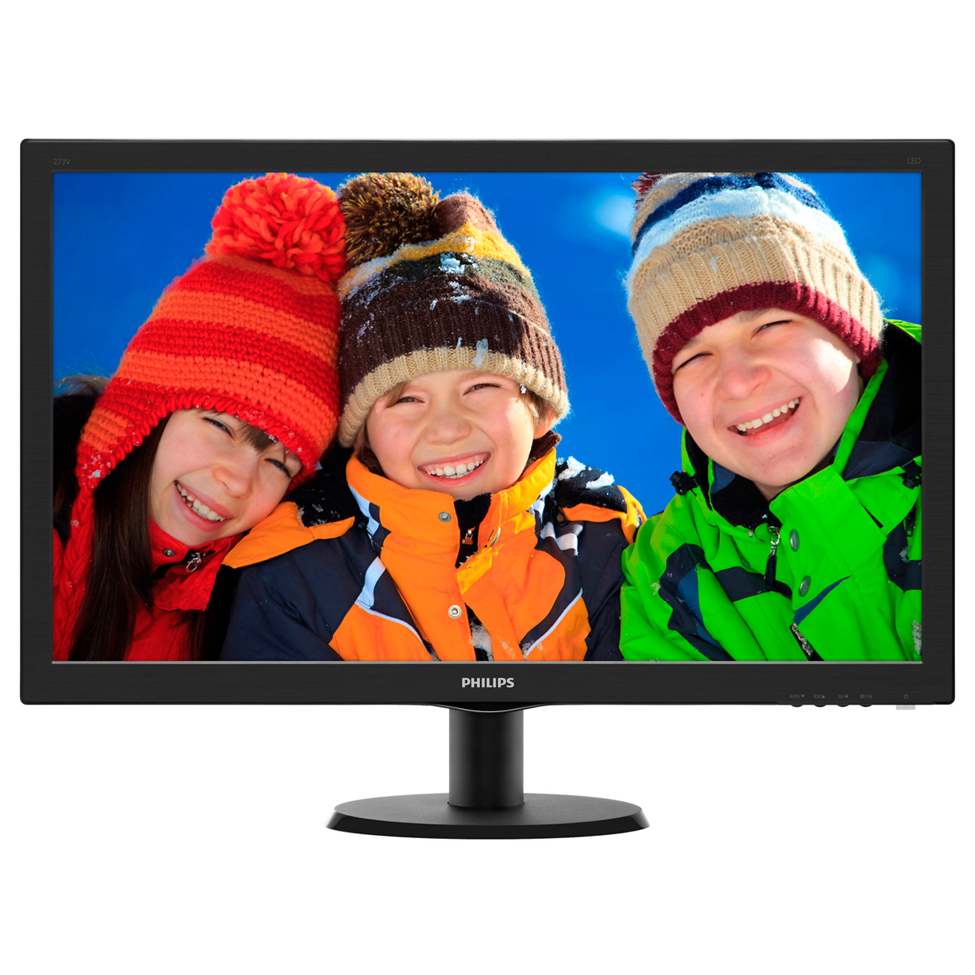 Monitor LED Philips 273V5LHSB/00 27 1920x1080 Black
