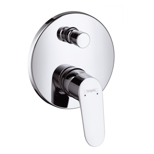Baterie dus Hansgrohe Focus finish set cu divertor chrome