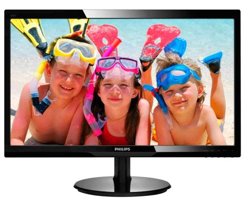 Monitor Led Philips 246v5lsb 24 1920x1080 16:9 Negru Lucios