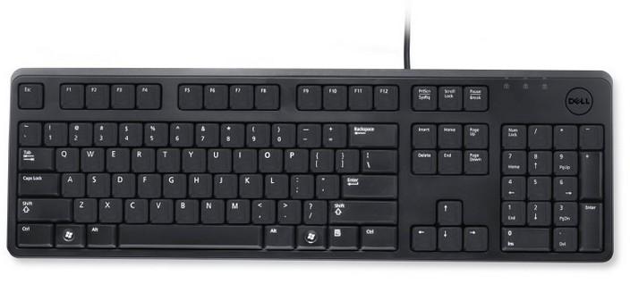 Tastatura Dell Kb212-b Entry  Us/european (qwerty)  Usb  Black