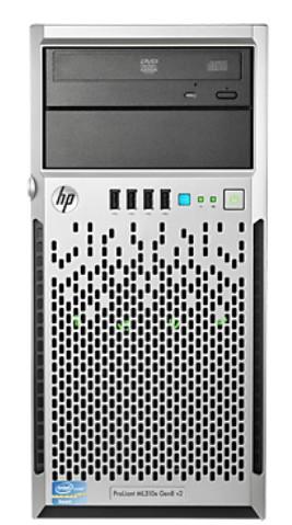 Server Tower Hp Proliant Ml310e Gen8 V2  Intel Xeon E3-1220v3 3.1ghz  4gb  1tb Sata Nhp  Smart Array B120i  350w