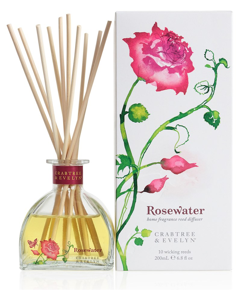 Difuzor Parfum Camera Crabtree & Evelyn Rosewater 200ml