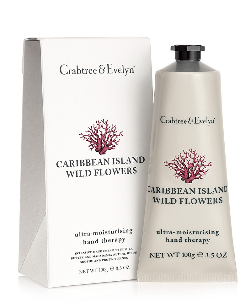 Crema De Maini Crabtree & Evelyn Caribbean Island Wild Flowers Hand Therapy 100g