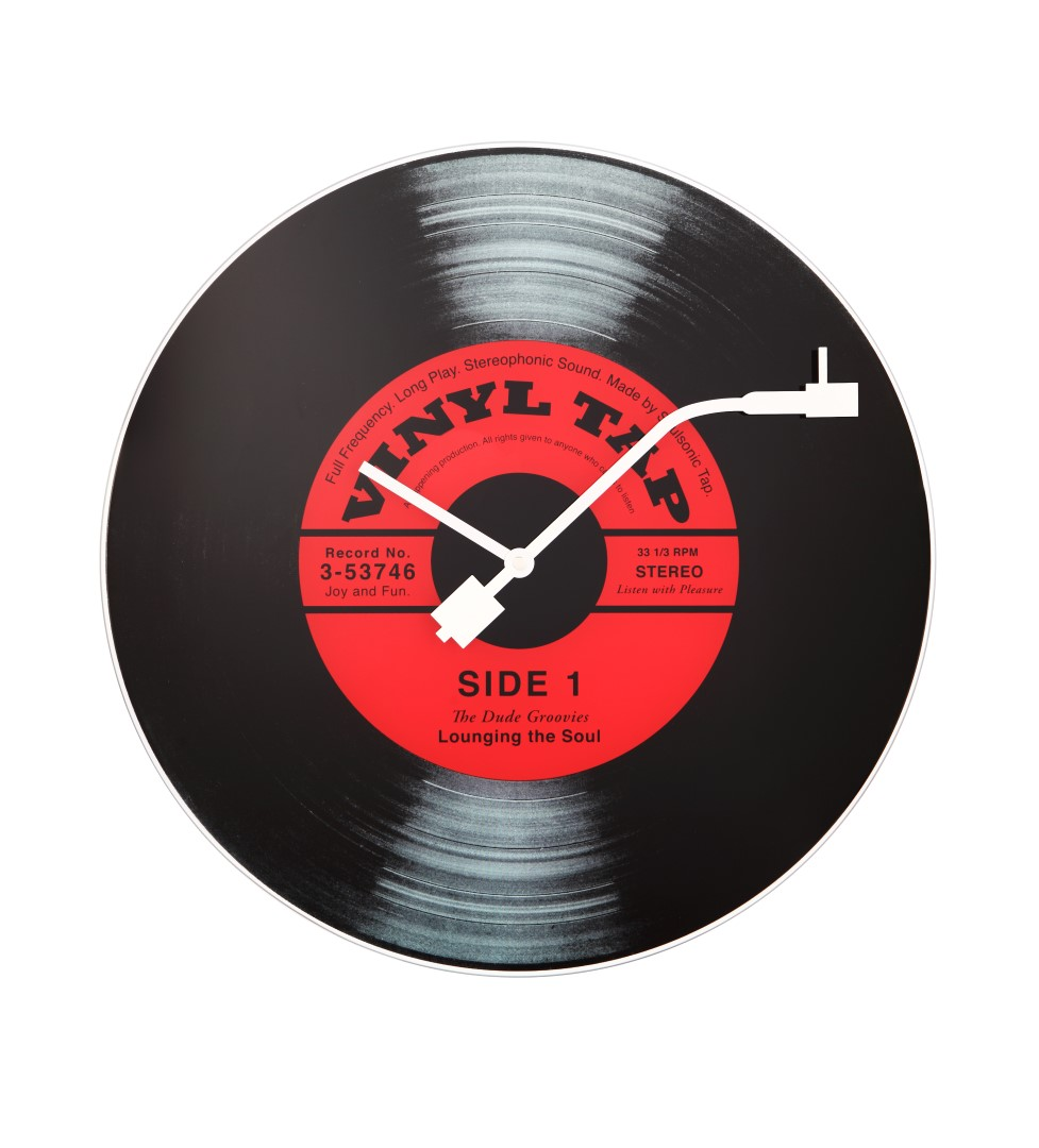 Ceas De Perete Nextime Vinyl Tap 43cm