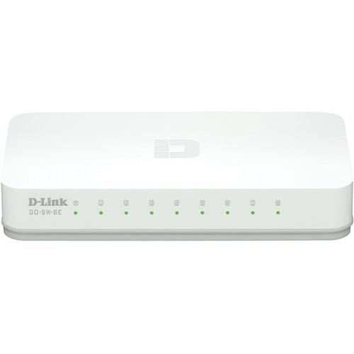 Switch D-link Go-sw-8e 8 Port 100mbps