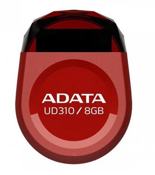 Memorie Usb Adata Myflash Ud310 8gb Usb 2.0 Red Waterproof And Shock-resistant