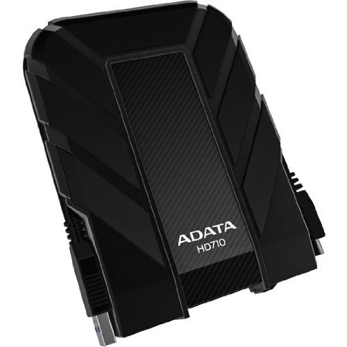 Hdd Extern Adata 1tb 2.5 Usb 3.0 Water and Shock Proof  Black
