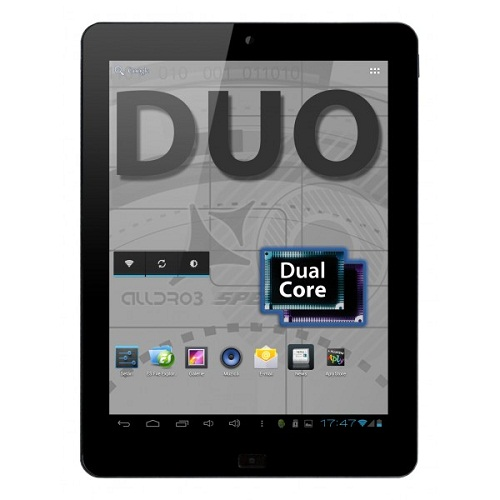 Tableta Allview Alldro 3 Speed Duo, Dual Core 1.5GHz, 9.7-inch IPS, 16GB, Wi-Fi, Android 4.1 Jelly Bean, Black