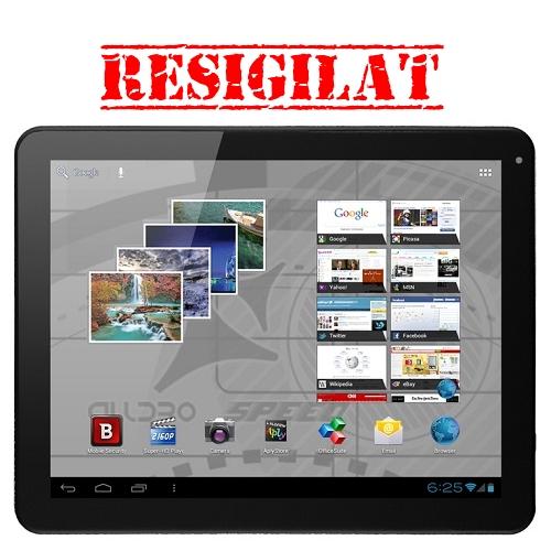 Tableta Allview Alldro 3 Speed HD, 9.7, 16GB, Display HD, WiFi, 3G cu modem extern, Android 4.0, negru/gri - RESIGILAT
