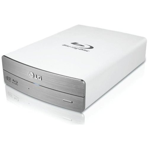 Blu-ray Writer extern LG BE14NU40 14x USB3.0, Silver