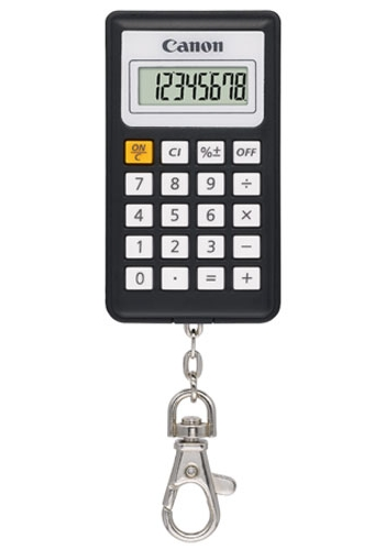 Calculator De Birou Canon Kc30 Euro2012 8digiti  Black  Tip Breloc