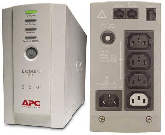 Ups Apc  Back-ups Cs 350va  230v