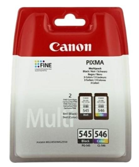 Consumabil Cerneala Canon Pg-545multi Ink Value Pack Black and Colour Pentru Mg2450/ Mg2550