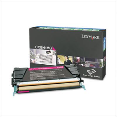 Consumabil Laser Lexmark C736  X736  X738 10k Mag Return Pro