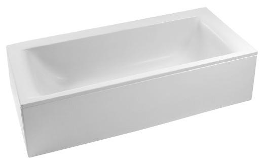 Cada rectangulara Ideal Standard Connect incastrabila, 150x70 White, RESIGILAT