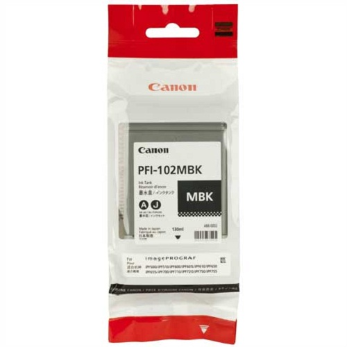 Consumabil Cerneala Canon Pfi-102mb Black Matte