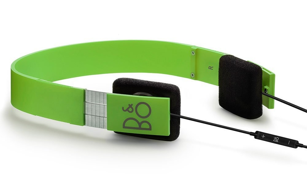 Casti Audio Bang and Olufsen Form 2i Verde