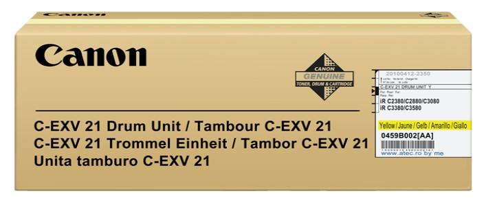 Consumabil Laser Canon C-exv21  Yellow
