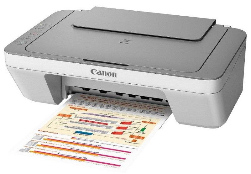 Multifunctional Inkjet Canon Pixma Mg2450 A4 Print  Copy  Scan  Usb