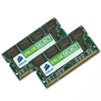 Memorie Corsair Value Select 2x4gb So-dimm Ddr3 1333mhz
