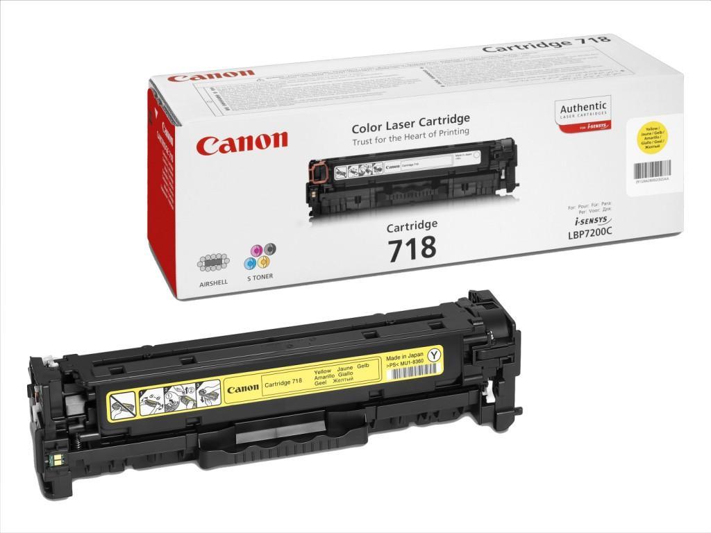 Consumabil Laser Canon Toner Cartridge Crg718y