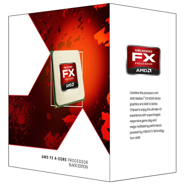 Procesor Amd Fx-4320 Vishera  4 Nuclee  4ghz  4.20ghz Max Turbo  4mb  Am3+  Box  95w