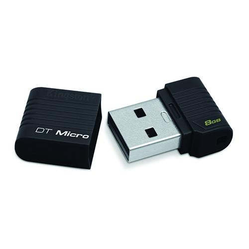 Memorie Usb Kingston 8gb Data Traveler Micro  Black