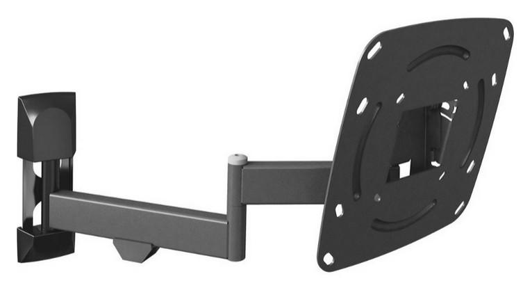Suport Tv Barkan E240.b  Diagonala 12 - 37 Max. 25kg  Vesa Max 200x200  Low Profile  Black
