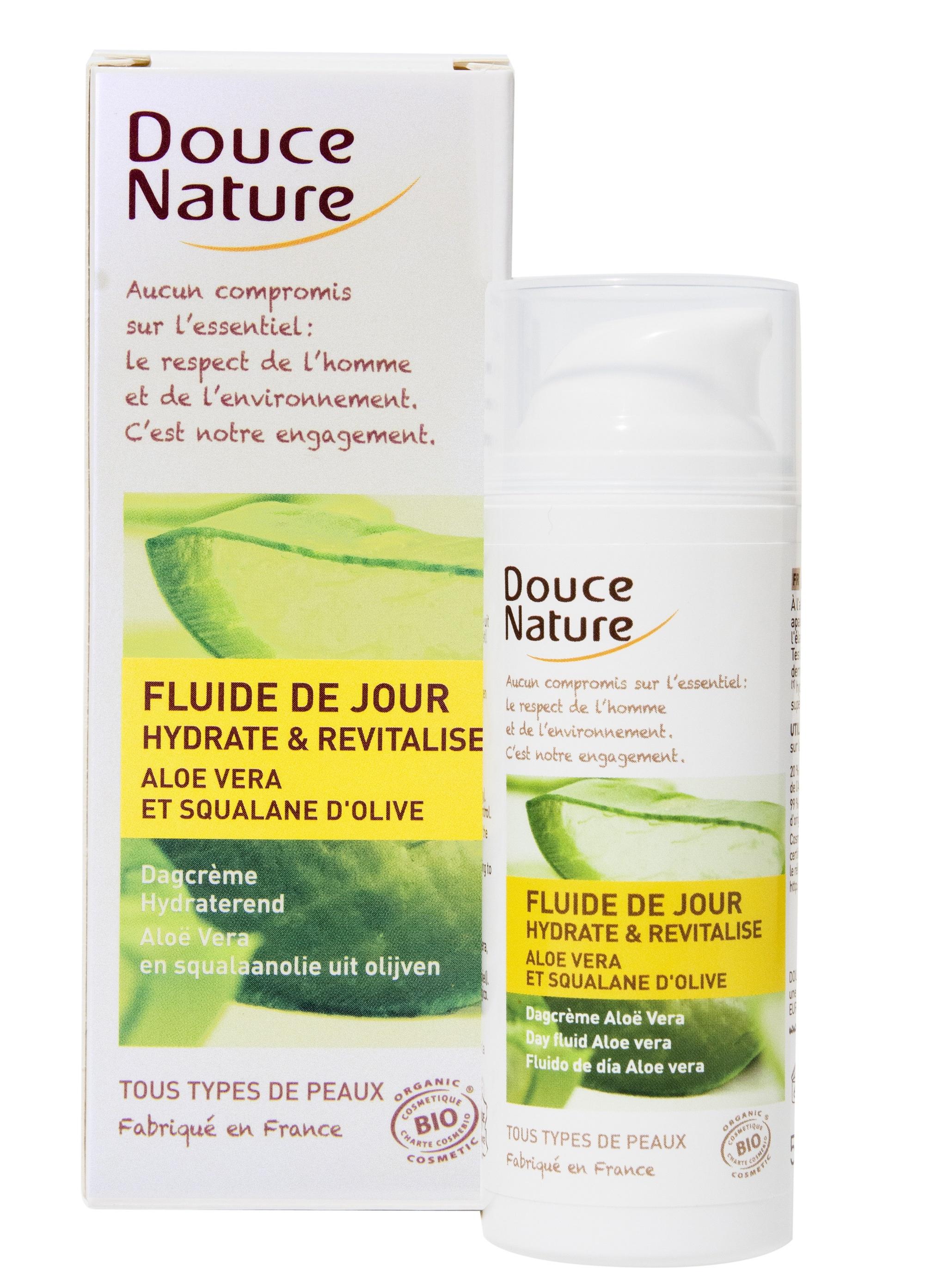 Fluid Hidratant De Zi Doucenature Cu Aloe Vera Eco 50ml