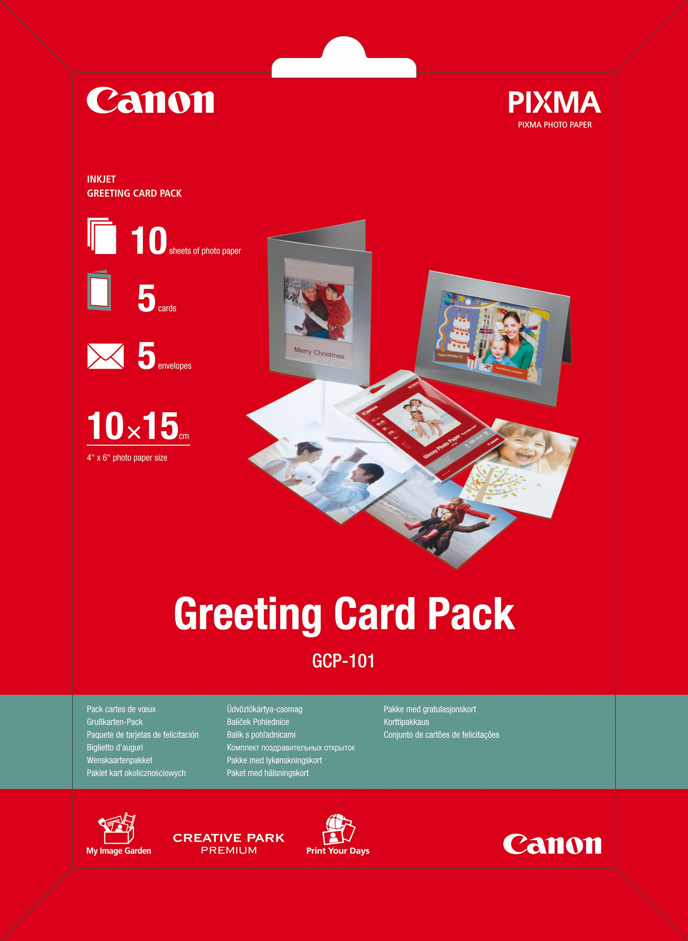 Hartie Foto Canon Gcp-101 Greeting Card 10x15
