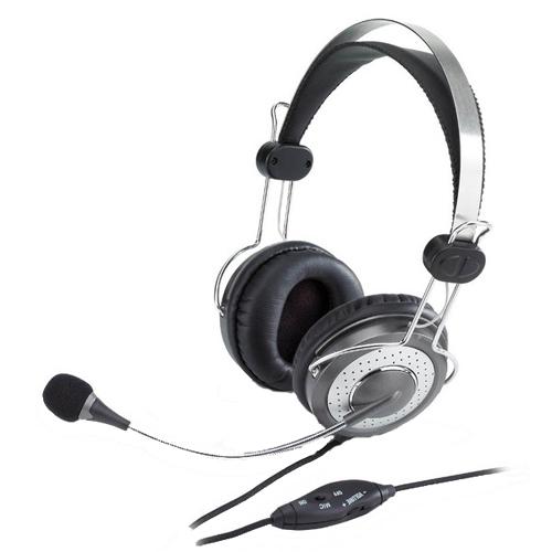 Casti Cu Microfon Genius Hs-04su  Control Volum  Noise-canceling Microphone headband  Rohs