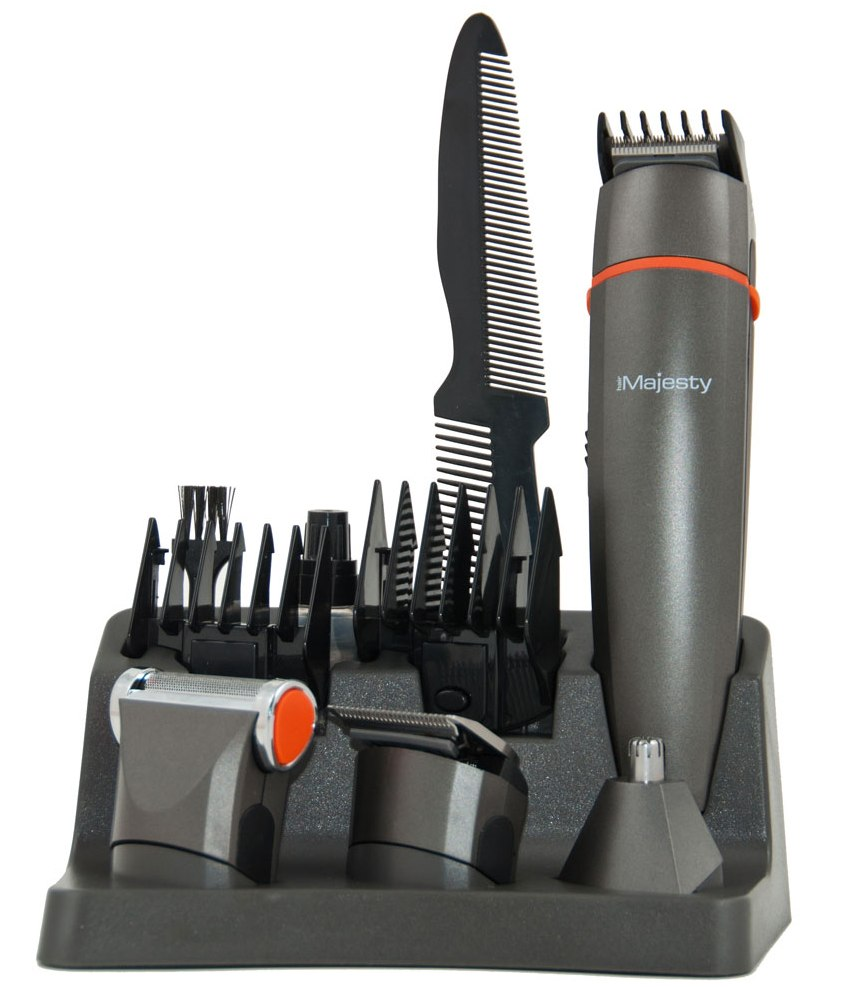 Set De Tuns Hair Majesty Hm1020 (micro Aparat De Ras  Trimmer  Masina Tuns)