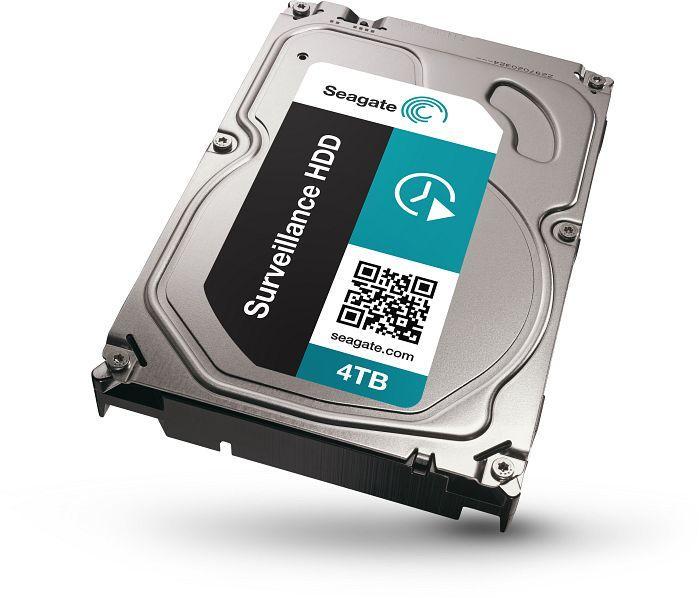 Hard Disk Seagate Surveillance 4tb 3.5 Sata3 5900rpm 64mb