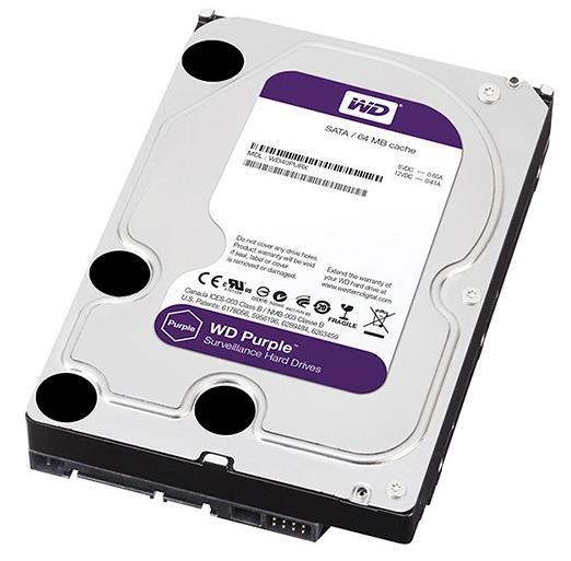 Hard Disk Western Digital Purple 2tb Sata3 64mb Intellipower