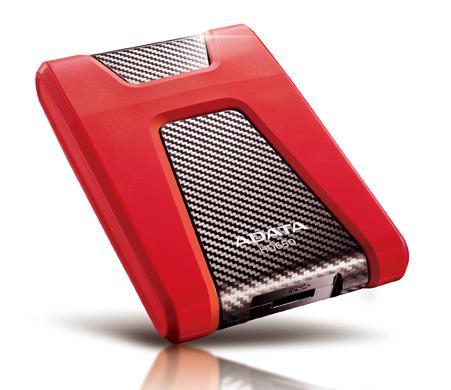 Hdd Extern Adata Dashdrive Durable Hd650 1tb Usb3.0 2.5 Red