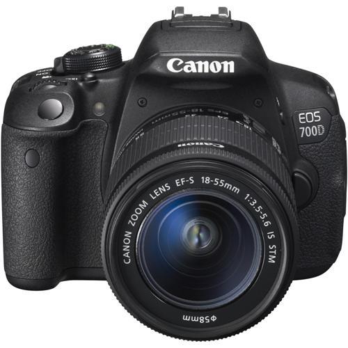 Aparat Foto Digital Slr Canon Eos 700d Kit Obiectiv Ef-s 18-55 Is Stm