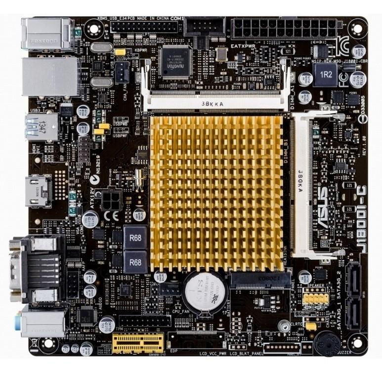 Placa De Baza Asus J1800i-c Intel Celeron J1800 2.41ghz Mitx
